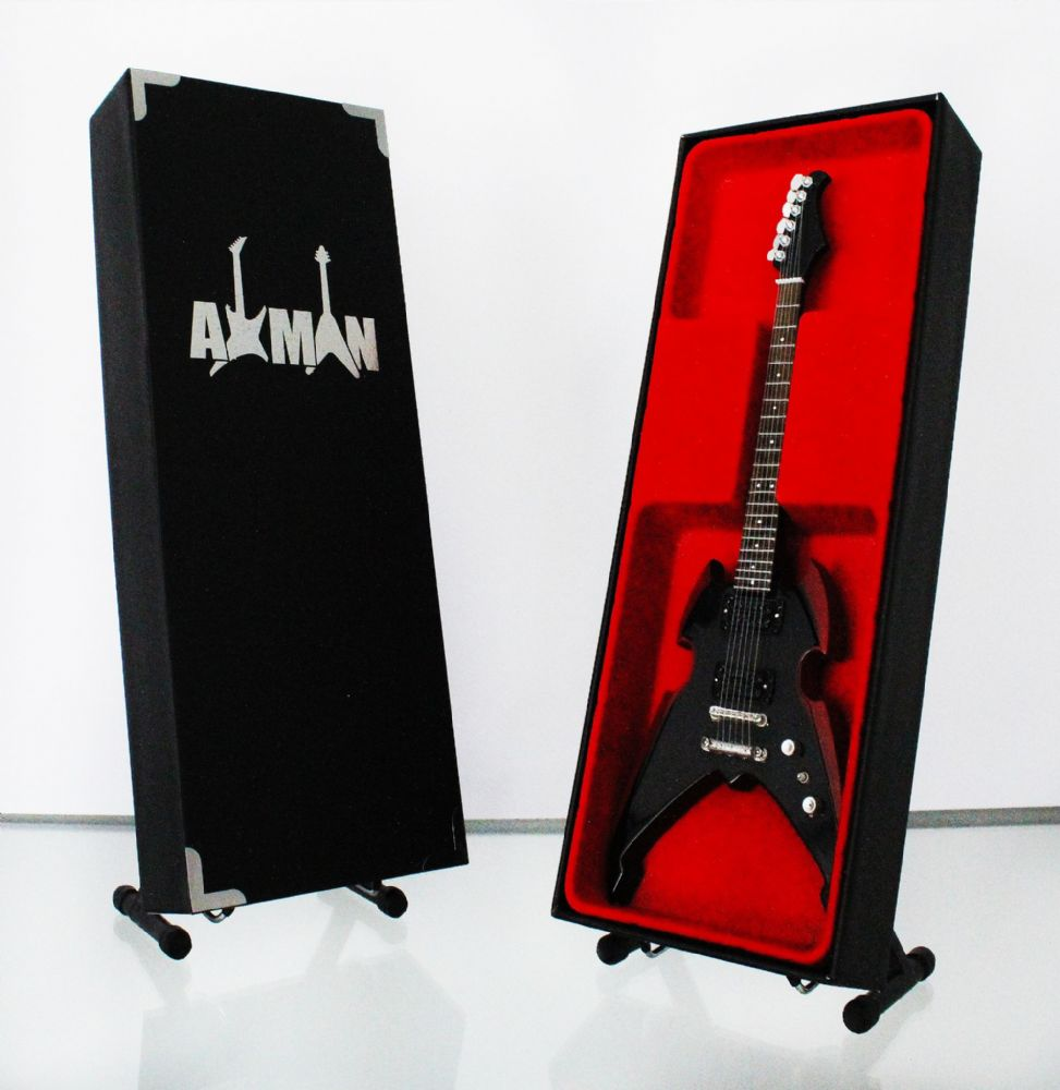 (Kiss) Paul Stanley: Apocalypse Pro - Miniature Guitar Replica (UK Seller)